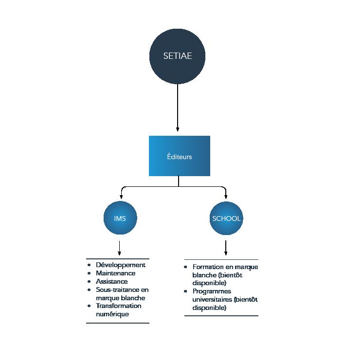 Image illustrant les prestations de SETIAE pour les éditeurs