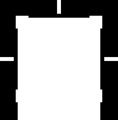 Icone Idée et Prestation-couleur blanche
